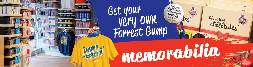 Get your very own Forrest Gump memorabilia